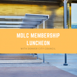 MDLC membership luncheon with denver city council