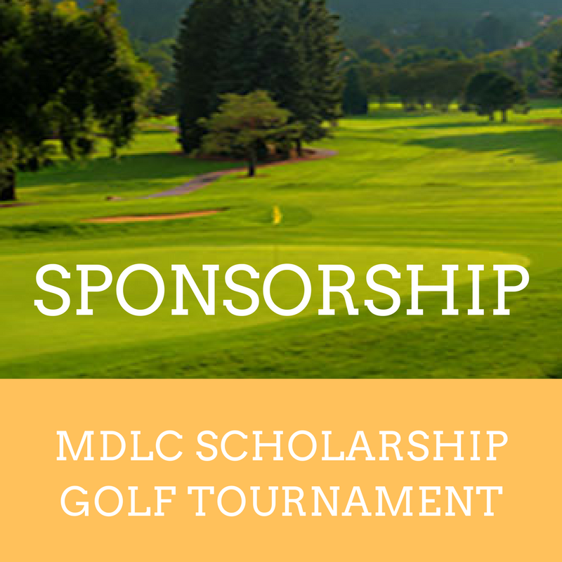 MDLC sponsorship golf tournament