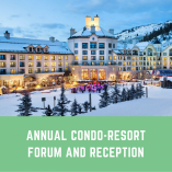 annual condo resort forum and reception